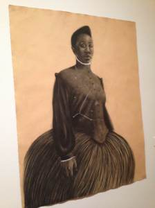 "Robert Pruitt - ""Dreaming Celestial"" (Reminded me of Harriet Tubman)"