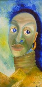 """Blue African"""
