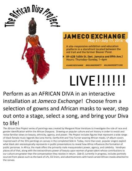 African Diva LIVE! flyer-1
