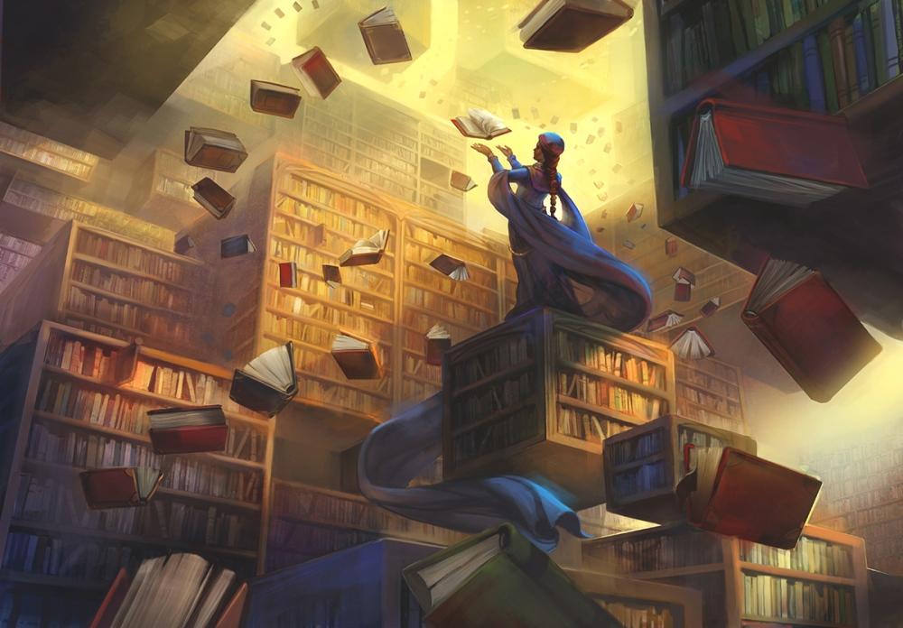 the_archivist_by_juliedillon-d9c5l9w