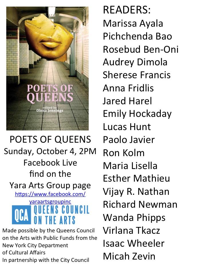 PoQ Book Launch Poster